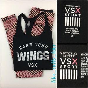 Victoria Secret Sport Set - Tank & Leggings Size S
